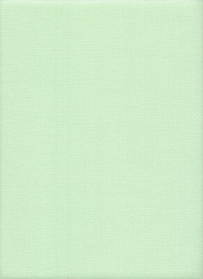 22 count Fabric Flair Oslo Hint of Mint Evenweave Fabric - 49 x 89 cms