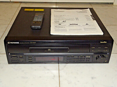 Pioneer CLD-800 PAL High-End Laserdisc Player LD CD CDV LD, FB&BDA, 2J.Garantie