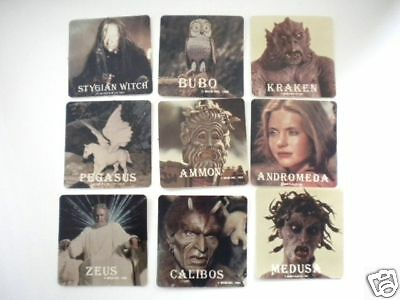 Clash of the Titans original first movie cards rare Post cereal set 1980s