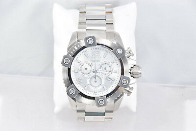 Men's Invicta 15824 Reserve Stainless Steel Band Silver Chronograph Dial Watch