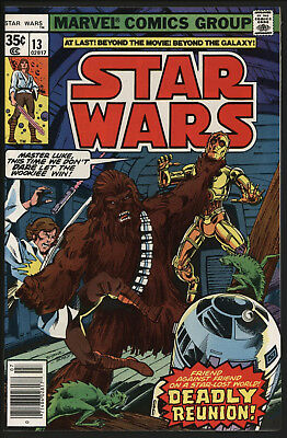 Star Wars #13 Jul 1978. New Stories Luke Skywalker. Chaykin Art