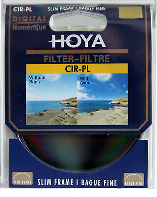 HOYA CPL CIR-PL  Filter Circular For Canon Nikon Sony Lenses 49mm_82mm Polarizin