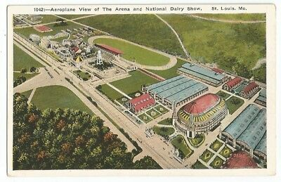 St. Louis, MO Missouri old Postcard, Arena and Forest Park Highlands