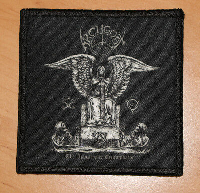 "ARCHGOAT ""THE APOCALYPTIC TRIUMPHATOR"" silk screen PATCH"
