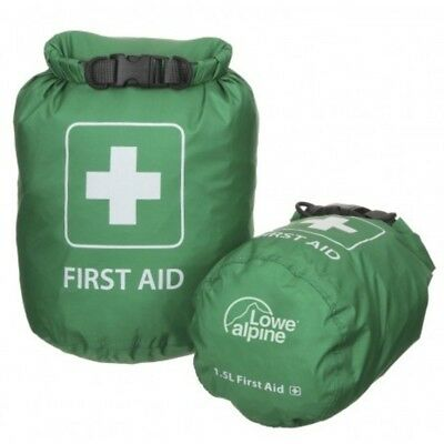 Lowe Alpine First Aid Dry Bag Fully Airtight And Waterproof Drysacs - Green - L