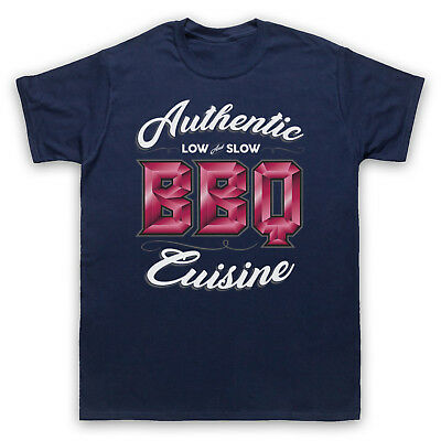 Authentic Bbq Cuisine Low & Slow Love Of Barbeque Mens Womens Kids T-Shirt