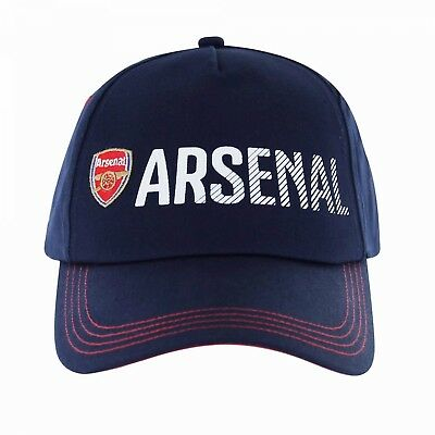 ARSENAL OFFICIAL Cap Christmas Xmas Birthday Fathers Day Gift Emirates NAVY