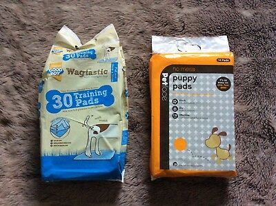 28 Puppy Training Toilet Pads By Wagtastic & Petface.
