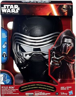 Star Wars The Force Awakens Kylo Ren Voice Changing Mask Roleplay Toy