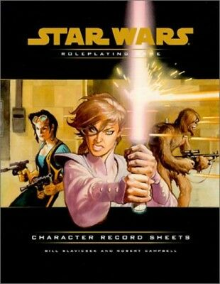 Star Wars Character Record Sheets Roleplaying Book