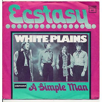 "Ecstasy - White Plains - Single 7"" Vinyl 60/10"