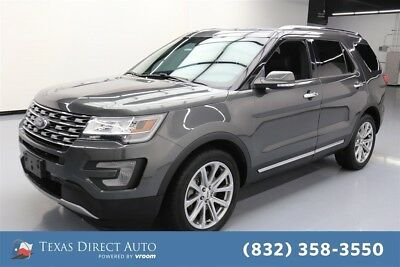 2017 Ford Explorer Limited Texas Direct Auto 2017 Limited Used 3.5L V6 24V Automatic 4WD SUV Premium