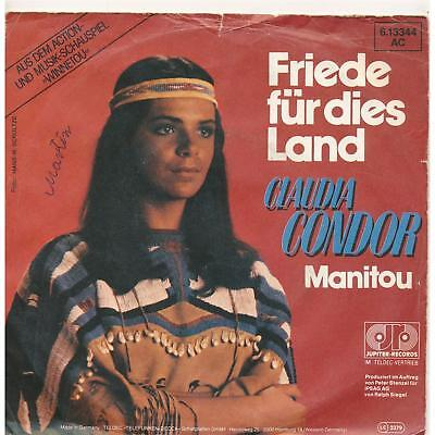 "Friede für dies Land - Claudia Condor - Musical Winnetou  Single 7"" Vinyl 148/03"