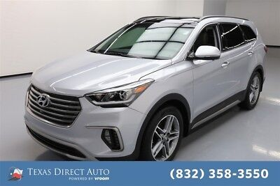 2017 Hyundai Santa Fe Limited Ultimate Texas Direct Auto 2017 Limited Ultimate Used 3.3L V6 24V Automatic FWD SUV