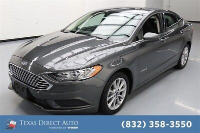 2017 Ford Fusion Hybrid SE Texas Direct Auto 2017 Hybrid SE Used 2L I4 16V Automatic FWD Sedan