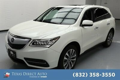 2016 Acura MDX SH-AWD 4dr SUV w/Technology Package Texas Direct Auto 2016 SH-AWD 4dr SUV w/Technology Package Used 3.5L V6 24V AWD