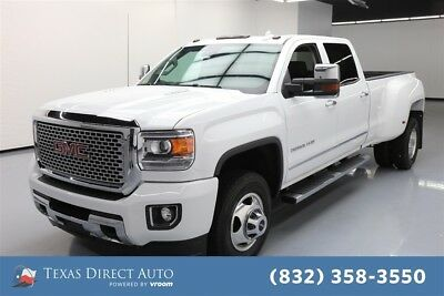 2015 GMC Sierra 3500 Denali Texas Direct Auto 2015 Denali Used Turbo 6.6L V8 32V Automatic 4WD Pickup Truck