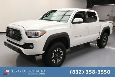 2018 Toyota Tacoma 4x2 TRD Off-Road 4dr Double Cab 5.0 ft SB Texas Direct Auto 2018 4x2 TRD Off-Road 4dr Double Cab 5.0 ft SB Used Automatic