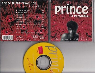 PRINCE & THE REVOLUTION Live Recorded In The U.S.A. CD LL 15473