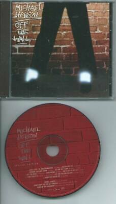 MICHAEL JACKSON Thriller 2001 CD SPECIAL EDITION GOLD DISC  4 BONUS TRACKS