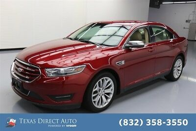 2016 Ford Taurus Limited Texas Direct Auto 2016 Limited Used 3.5L V6 24V Automatic FWD Sedan