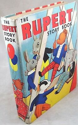 1938 The Rupert Story Book Mary Tourtel annual