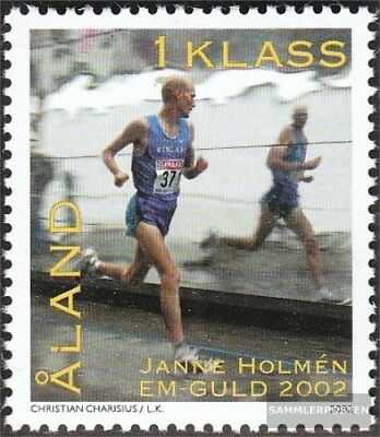 Finland - Aland 213 (complete.issue.) fine used / cancelled 2002 marathon runner