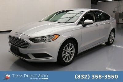 2017 Ford Fusion SE Texas Direct Auto 2017 SE Used 2.5L I4 16V Automatic FWD Sedan