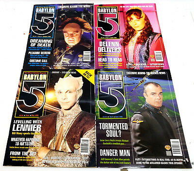 1997-1998 Babylon 5 Official Montly Magazine Series 1- Your Choice