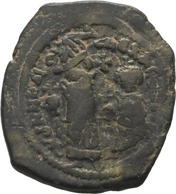 Lanz Byzantine Heraclius With Constantine Follis Constantinople Ae ±Bec848