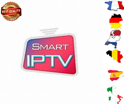 SMART IPTV FHD-- abonnement 12 MOIS-Android-Mag-Smart-TV-m3u