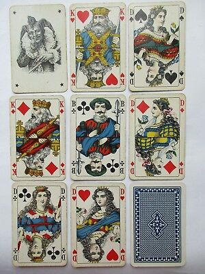 Dondorf/ASS? Antikes Kartenspiel. Great antique playing cards. Germany.