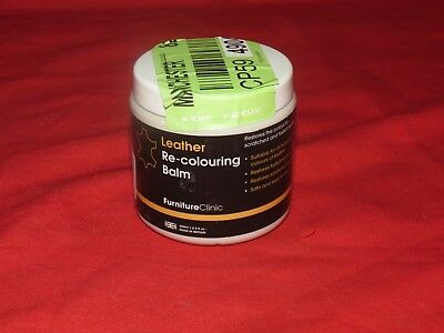 t8 FurnitureClinic Leather Re-Colouring IVORY -8.5 oz [EH-F]