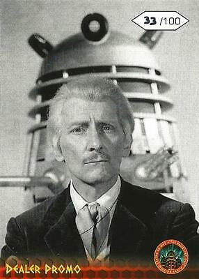 Dr Doctor Who Daleks 2150AD Exclusive Promo Card rydeclive1 #?/100