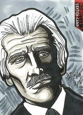 Dr Doctor Who Daleks 2150AD Sketch Card by Kevin Meinert of The Doctor