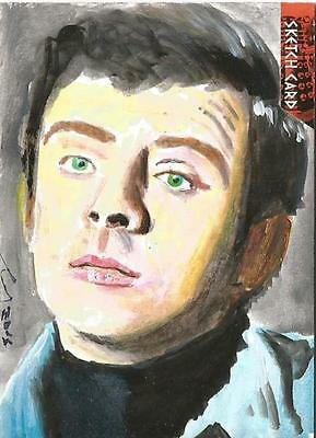 Dr Doctor Who Daleks 2150AD Sketch Card by Solly Mohamed of David