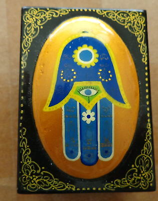 Box Hand Of The God Wooden Jewish Russianmade  Judaica