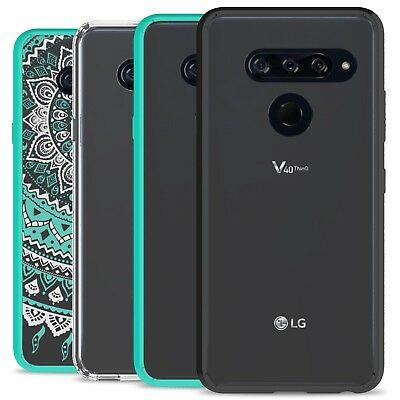 CoverON ClearGuard For LG V40 ThinQ Case Hybrid Shockproof Slim Phone Cover