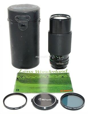 CANON FD 70-210mm f4 ZOOM LENS!! EXCELLENT PLUS CONDITION!! 90-DAY WARRANTY!!