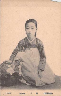 Vintage Japanese, Korean Postcard of Kee San