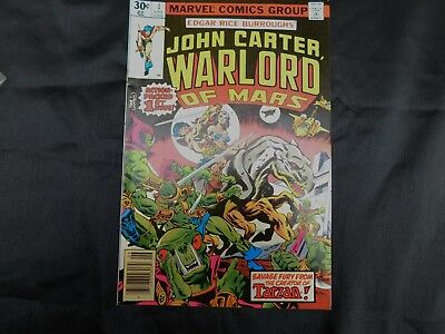 1977 Marvel Comics Group  1St Issue  John Carter Warlord Of Mars  June  #1