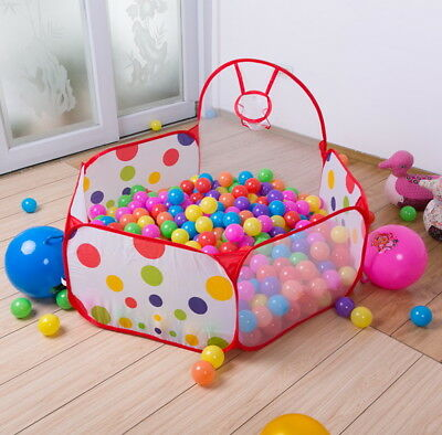 Boy Girl Kids Ball Pit Indoor Play Tent Game House Ocean Pool Toy Birthday Gift