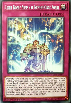 Yugioh 3x Until Noble Arms are Needed Once Again - SOFU-EN091 - Common - 1st Edi