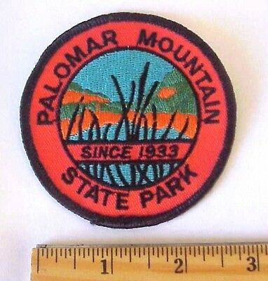 Palomar Mountain State Park California Embroidered Souvenir Patch
