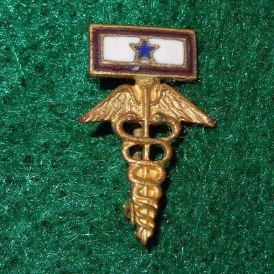 MEDICAL Son in Service US Army WWII Sweetheart Homefront Pin