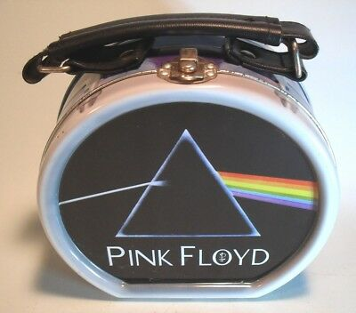 Pink Floyd Round Lunch Box - Metal - Classic Rock Memorabilia