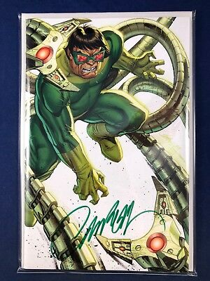 Amazing Spider-Man #800 2018 SDCC Signed J Scott Campbell Virgin Variant Cover G