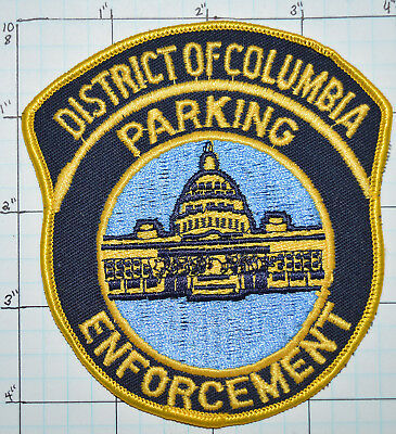 District Of Columbia Parking Enforcement Police Patch