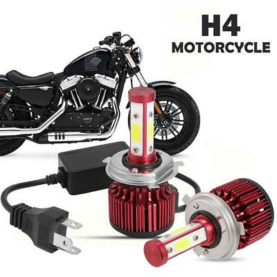 Pair H4 9003 For Suzuki Vstrom DL1000 02-09 DL650 04-09 LED Headlight With Drive
