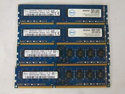 Hynix 16GB Kit (4x4GB) PC3-12800 DDR3 1600Mhz Desktop Memory